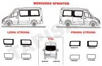 Szyby Mercedes Sprinter - krótki